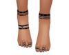 Decorated Feet V3 Black