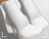 ṩAni Boots White