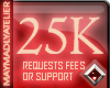 MAy™ 25K Request|Support