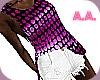 [AA] Funky Fit~Purple