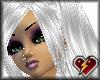 S white zine hair