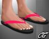 CG   Flip Flops Pink