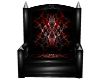 Blk/Red Throne