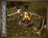 Cabin Campfire