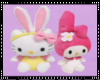 Hello Kitty Plushies