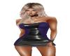 Dress PurpBlack Leather