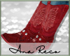 A Red Cowboy Boots