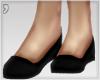 , Dainty Black Flats