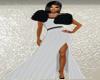 Ballroom Gown/White