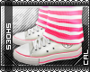 [c] Shoes: Chucks Pink