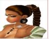 LALA brown ponytail