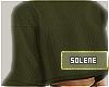 a MESHKI Olive Sweater