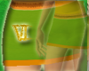 Green/Orange Skirt