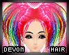 * Devon - rainbow pink