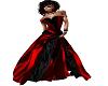 bridemaiddress black/red