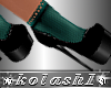 K*Shoes socks DD Green