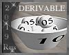 Rus:DERIVABLE Fruit Bowl