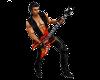 (1M) Flame Guitar