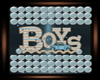 BOYZ BABY BOY PLAYMAT