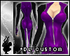 *dl Purple Race Suit