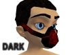 Red rave mask
