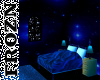 Spacey Blue room