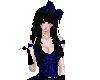 Blue Lace Hair