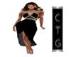 CTG DRESS IN BLACK 1 GA