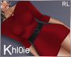 K jaide red dress RL