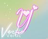 V ! Letter Y Sticker