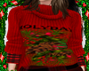AS*X-MAS RED SWETER