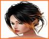 Black & Orange Hairstyle