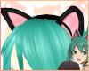 ~R~ Neko Miku ears
