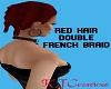 Red French Braid