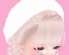 ♡ white beret