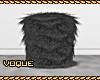 [V] Grey Fur Stool