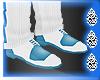 (I) White & Blue Shoes