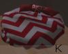 """ Red Loft Bed"
