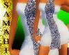 {S} Grey jewel dress