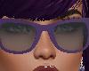 gafas moradas