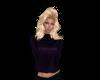 Purple Freedom Sweater