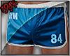 1984 Fit Shorts Blue