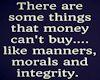 Manners Morals & Integ..
