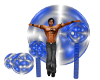 (1M) Blue Pose Balls