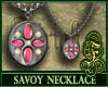 Savoy Necklace Pink