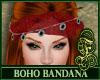 Boho Bandana Red
