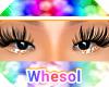 orange glitter eyeshadow