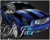 rD blue effect mustang
