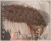 [Is] Fur Headband Brown