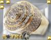 A: Gold Mayan Wed. Ring